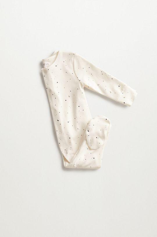 Mango Kids - Kojenecké oblečení Lili 62-92 cm bílá