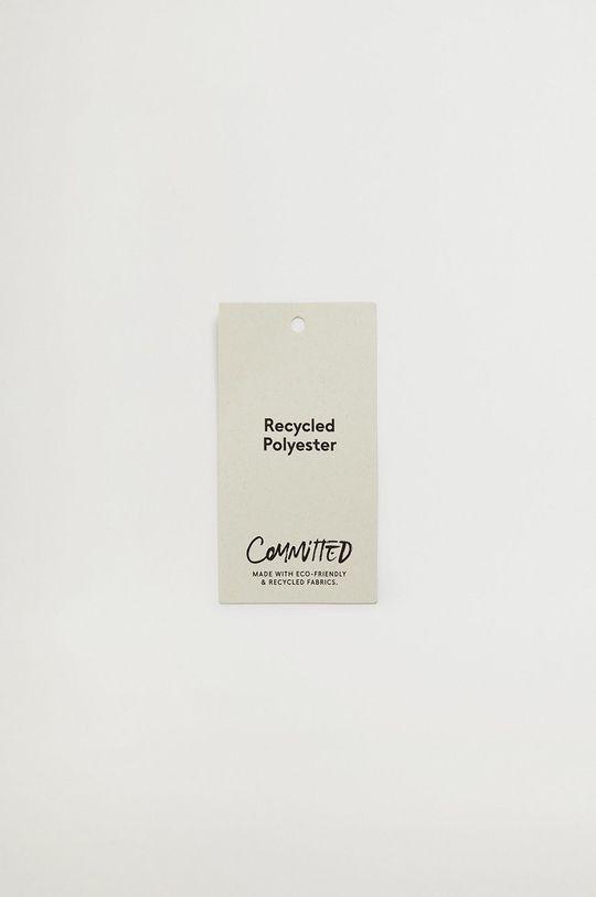 Mango - Portfel BLED 100 % Poliester z recyklingu