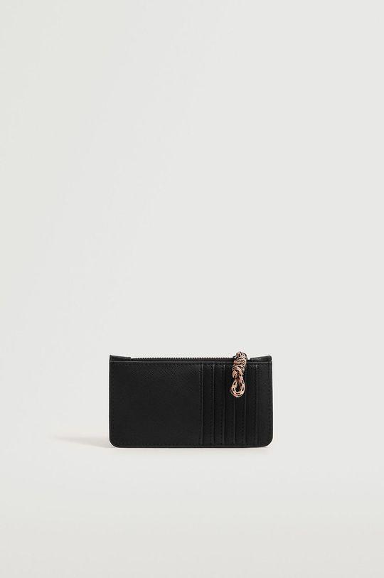 Mango - Peněženka Corda černá
