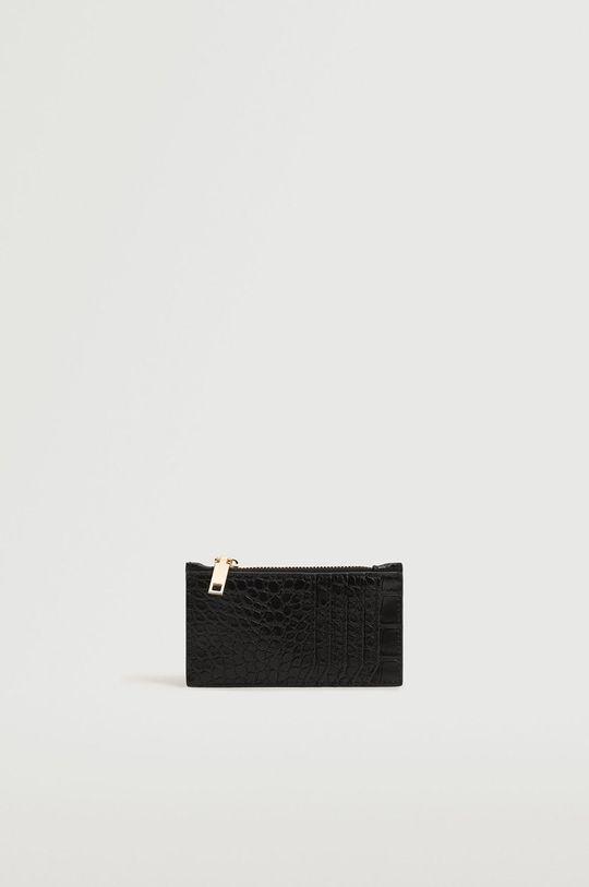Mango - Peněženka Agustin černá