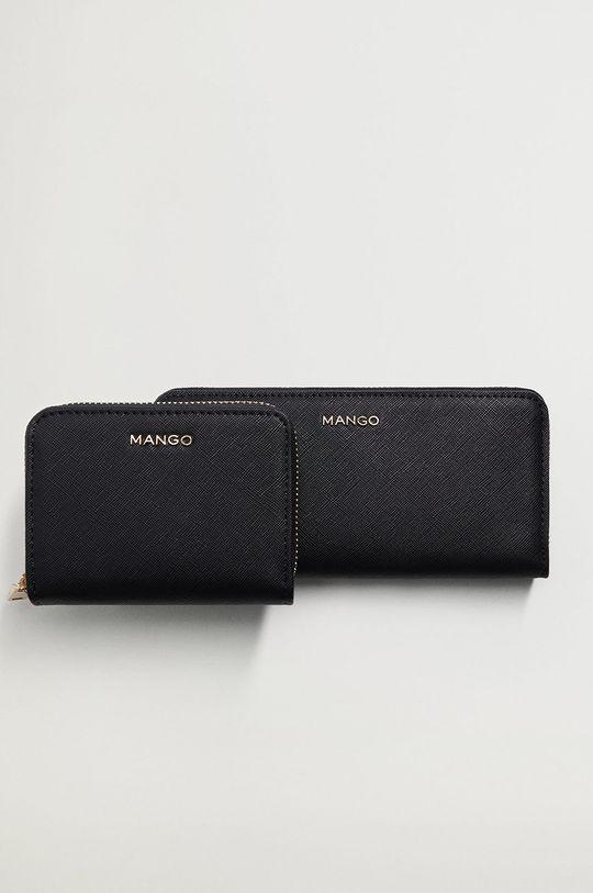 Mango - Peňaženka CARMEN  Podšívka: 50% Polyester, 50% Polyuretán Základná látka: 100% Polyuretán