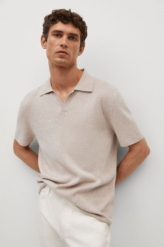 tělová Mango Man - Polo tričko Lino Pánský