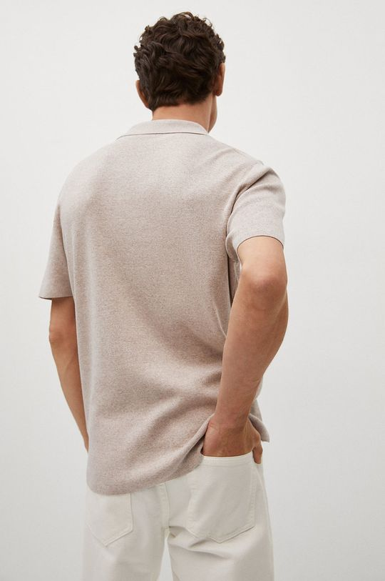 Mango Man - Polo tričko Lino Pánský