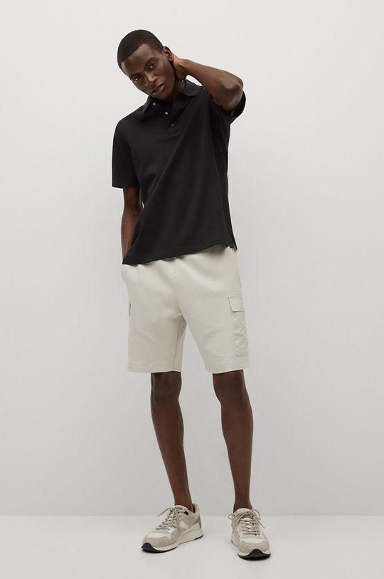 Mango Man - Polo tričko Porsche černá
