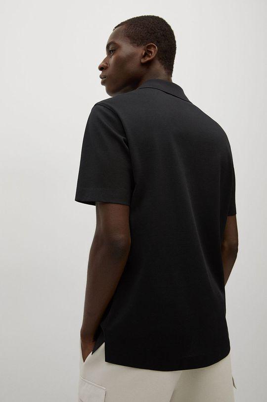 černá Mango Man - Polo tričko Porsche