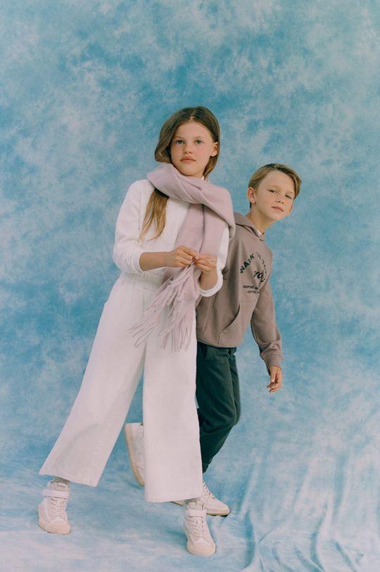 Mango Kids - Šál Sweetk  35% Polyester, 30% Viskóza, 35% Recyklovaný polyester