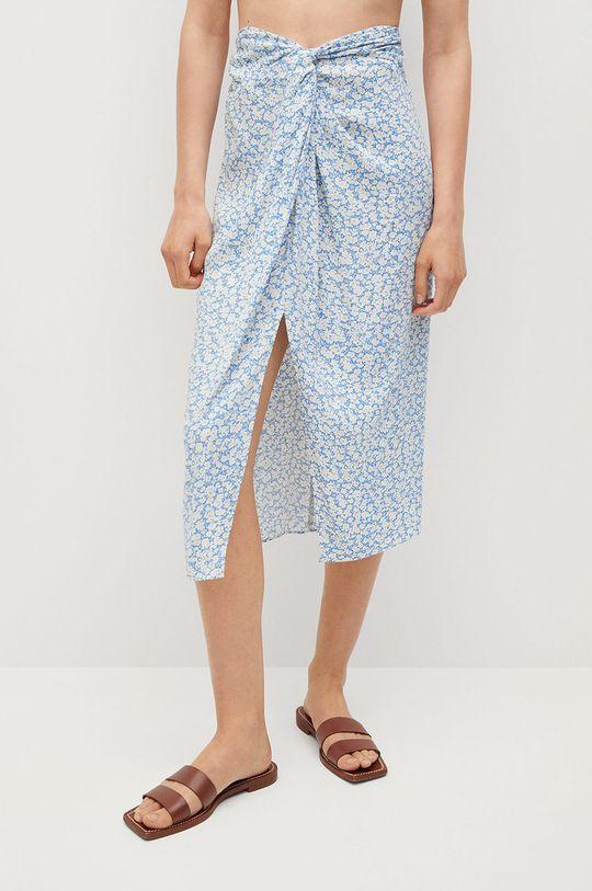 blady niebieski Mango - Spódnica Sand Damski