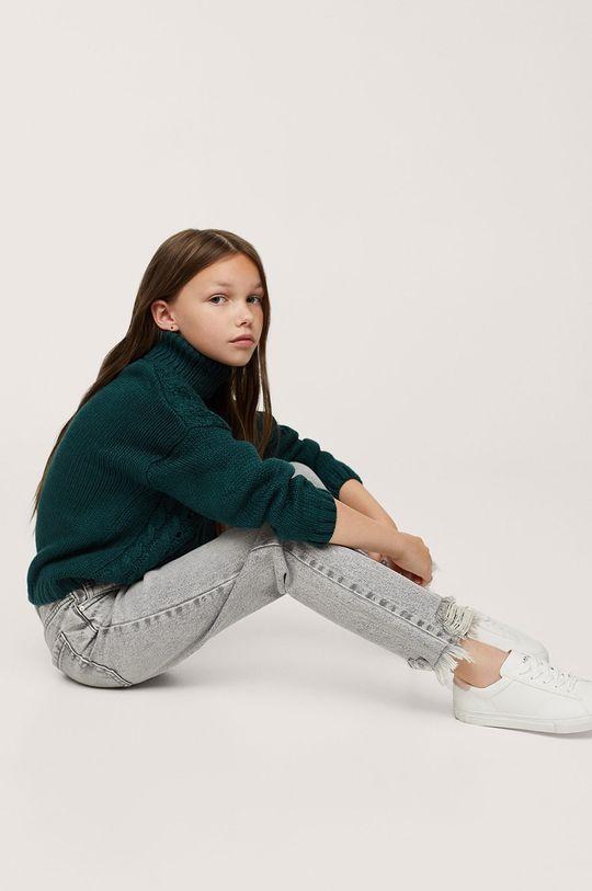 Mango Kids - Jeansy dziecięce Kristen 100 % Bawełna