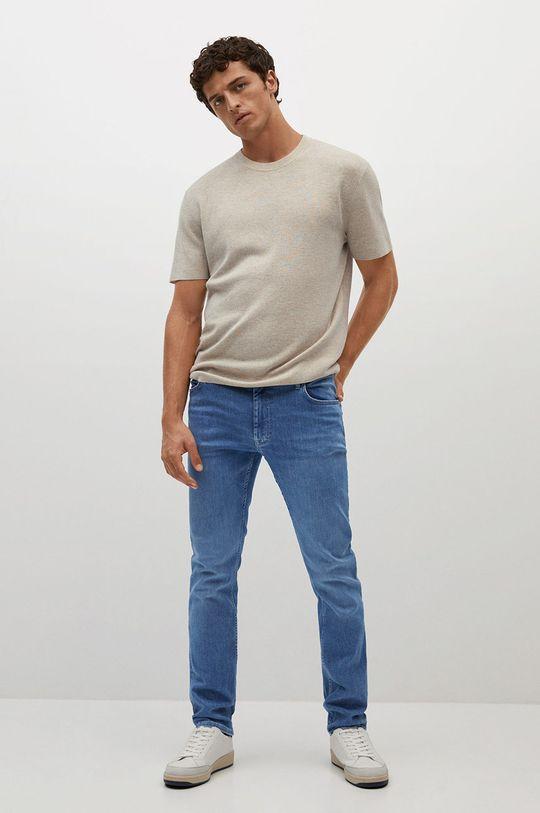 Mango Man - Džíny Patrick modrá