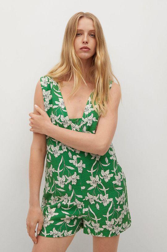 zielony Mango - Kombinezon Riviera Damski