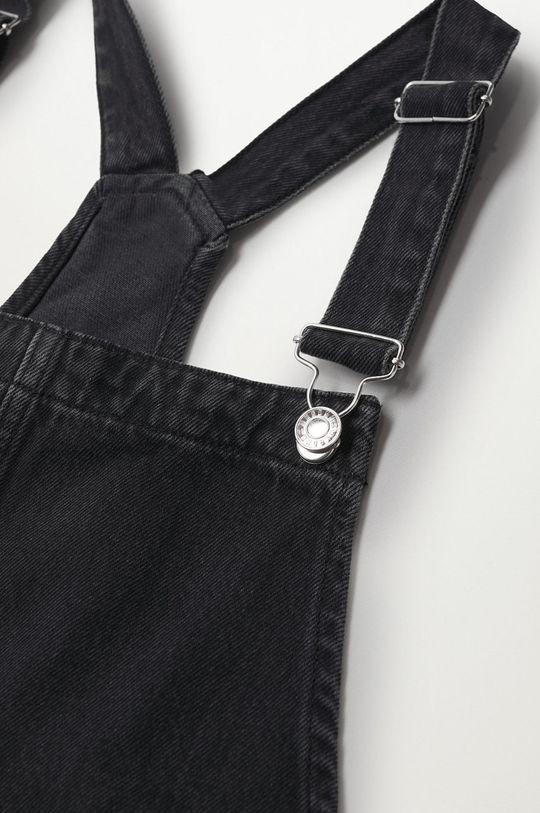 Mango - Kombinezon jeansowy Ares szary