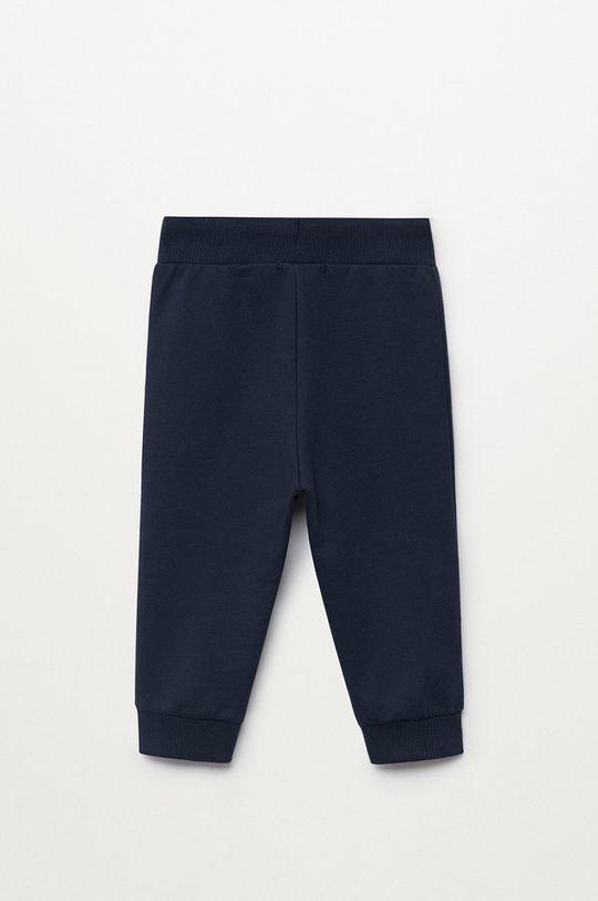 granatowy Mango Kids - Spodnie dziecięce Mateop1 80-110 cm