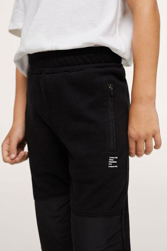 czarny Mango Kids - Spodnie Qutltp