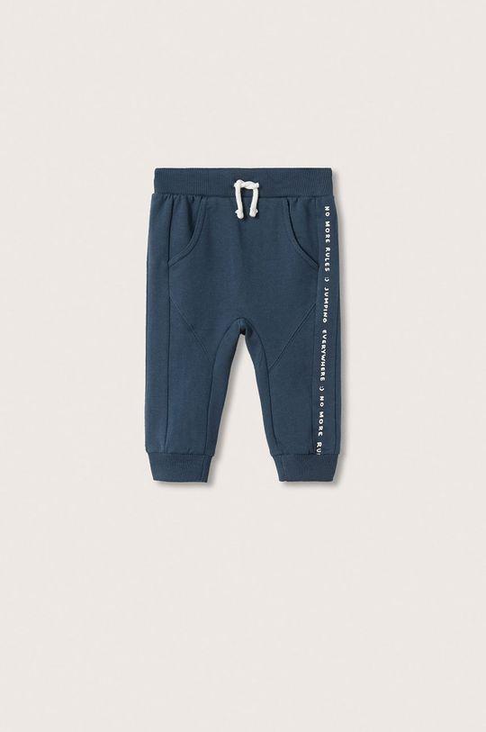 niebieski Mango Kids - Spodnie dziecięce Jumping Chłopięcy