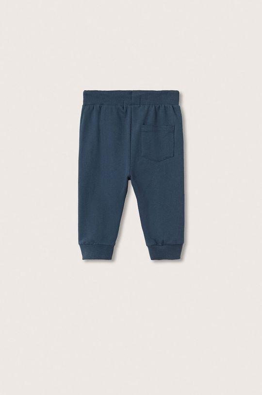 Mango Kids - Spodnie dziecięce Jumping niebieski