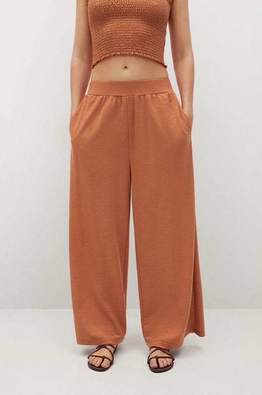 oranžová Mango - Kalhoty Tamara