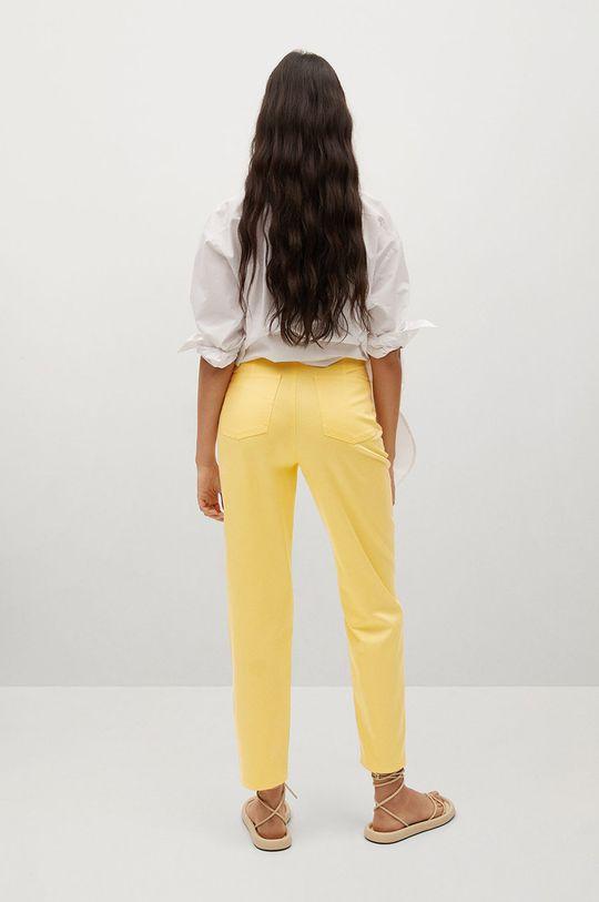 Mango - Spodnie FIVES Podszewka: 100 % Bawełna, Materiał zasadniczy: 35 % Bawełna, 65 % Lyocell