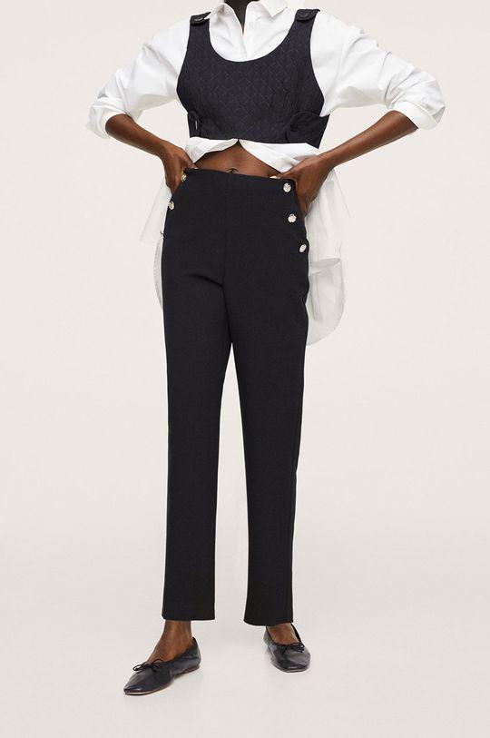 negru Mango - Pantaloni Dorado De femei