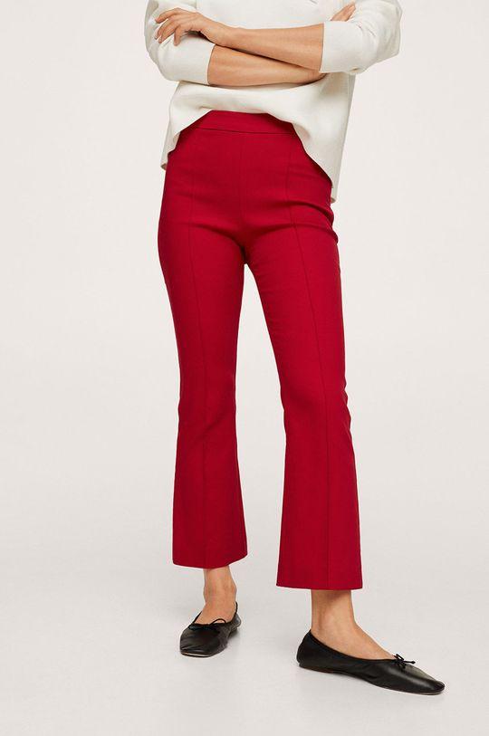 červená Mango - Kalhoty Kick Dámský
