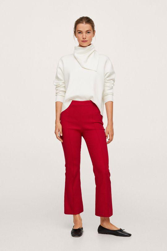 Mango - Kalhoty Kick červená