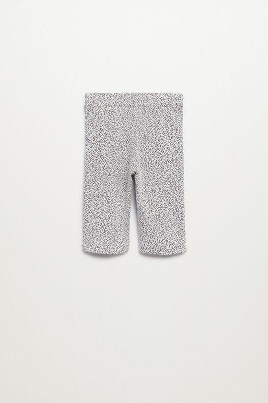 Mango Kids - Pantaloni copii Spots gri deschis