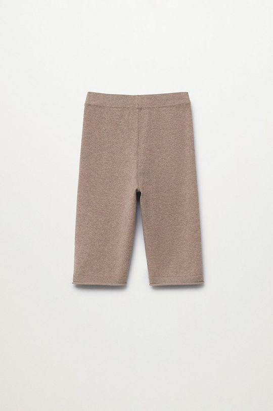 Mango Kids - Pantaloni copii Jonb maro