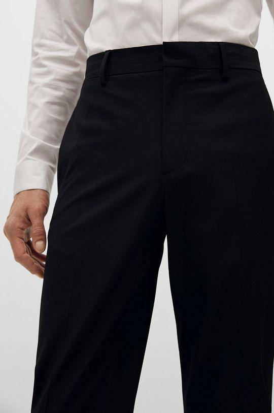 czarny Mango Man - Spodnie PAULO