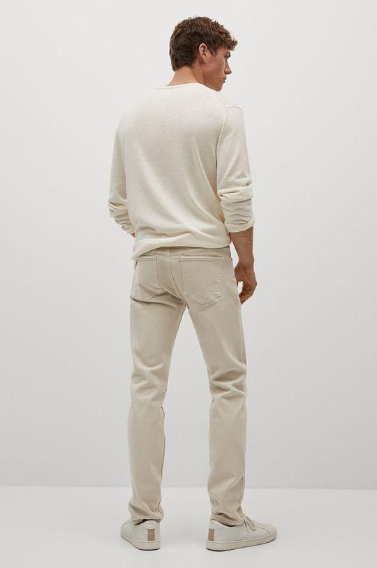 Mango Man - Jeansy Ibiza Materiał zasadniczy: 99 % Bawełna, 1 % Elastan, Podszewka kieszeni: 35 % Bawełna, 65 % Poliester