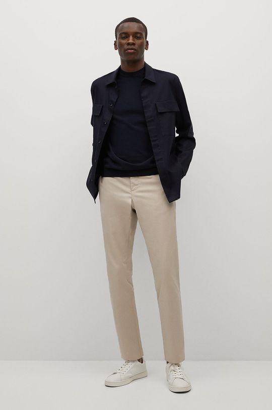 Mango Man - Kalhoty Dublin tělová
