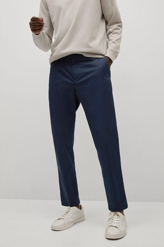 námořnická modř Mango Man - Kalhoty Dublin Pánský