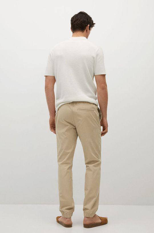 Mango Man - Spodnie Roma Podszewka: 35 % Bawełna, 65 % Poliester, Materiał zasadniczy: 50 % Bawełna, 50 % Lyocell
