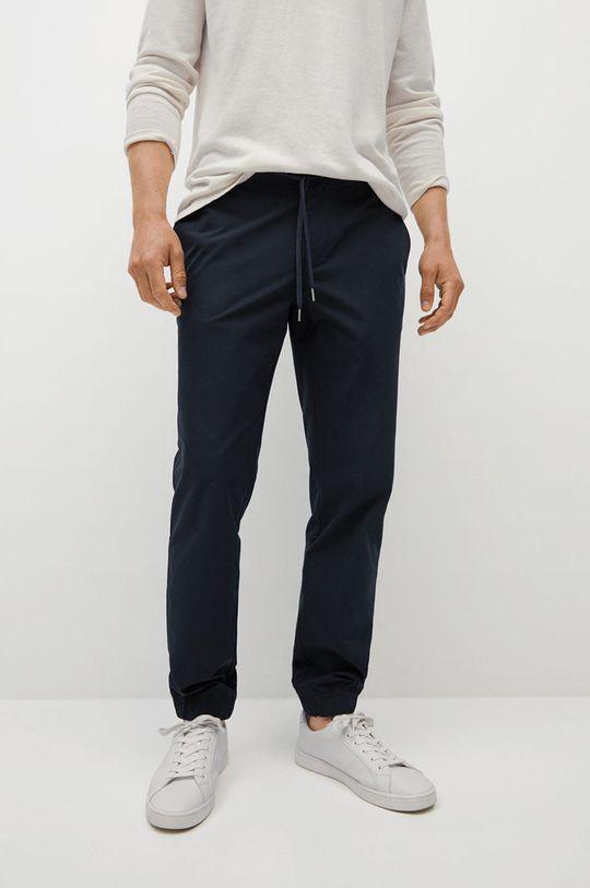 námořnická modř Mango Man - Kalhoty Roma Pánský