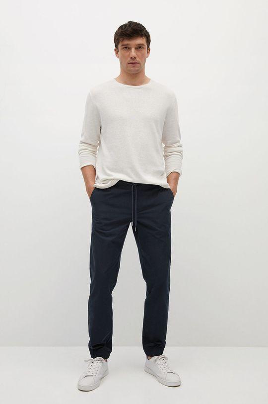 Mango Man - Kalhoty Roma námořnická modř