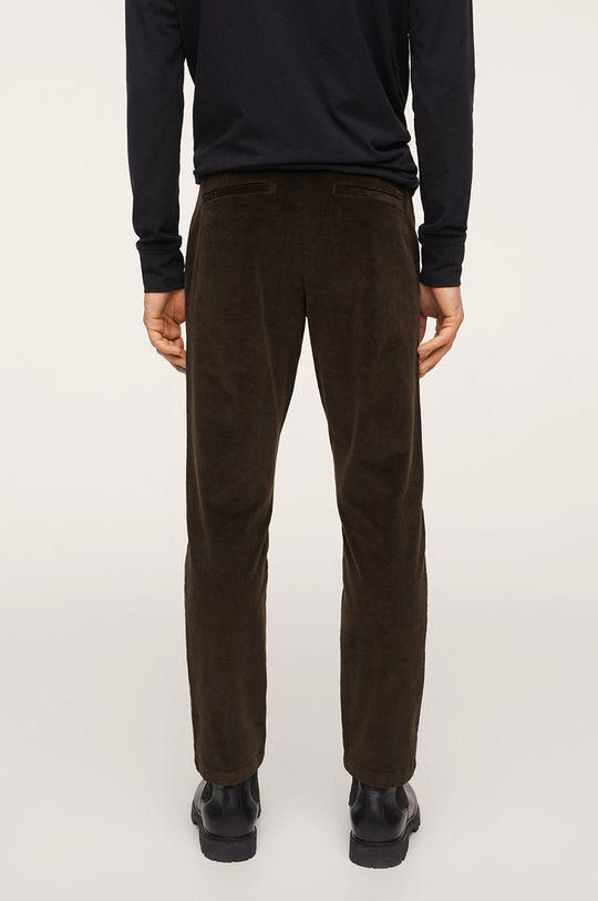 Mango Man - Spodnie Berdam Podszewka: 35 % Bawełna, 65 % Poliester, Materiał zasadniczy: 98 % Bawełna, 2 % Elastan