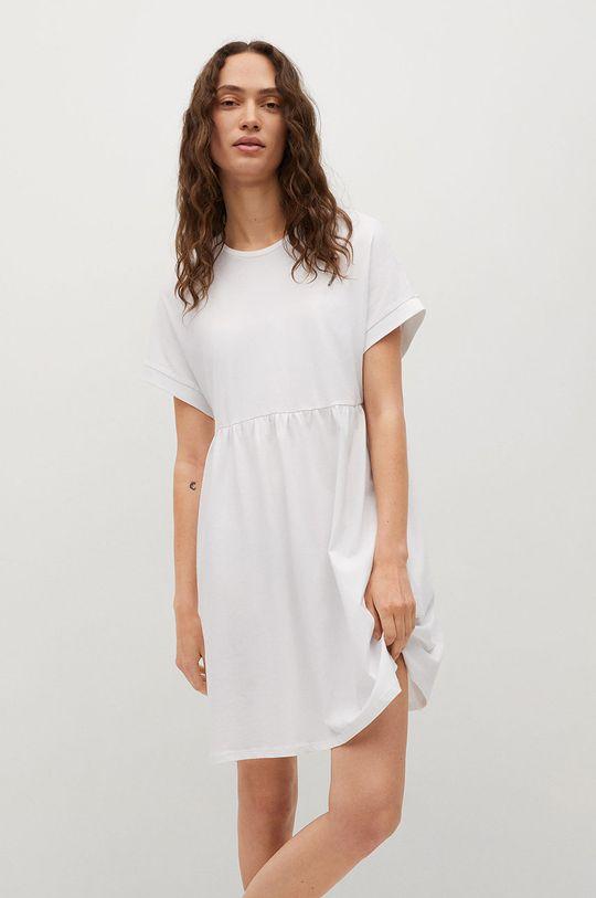 biały Mango - Sukienka GISELE1 Damski