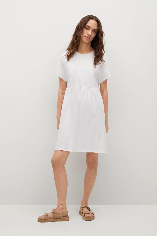 Mango - Sukienka GISELE1 biały