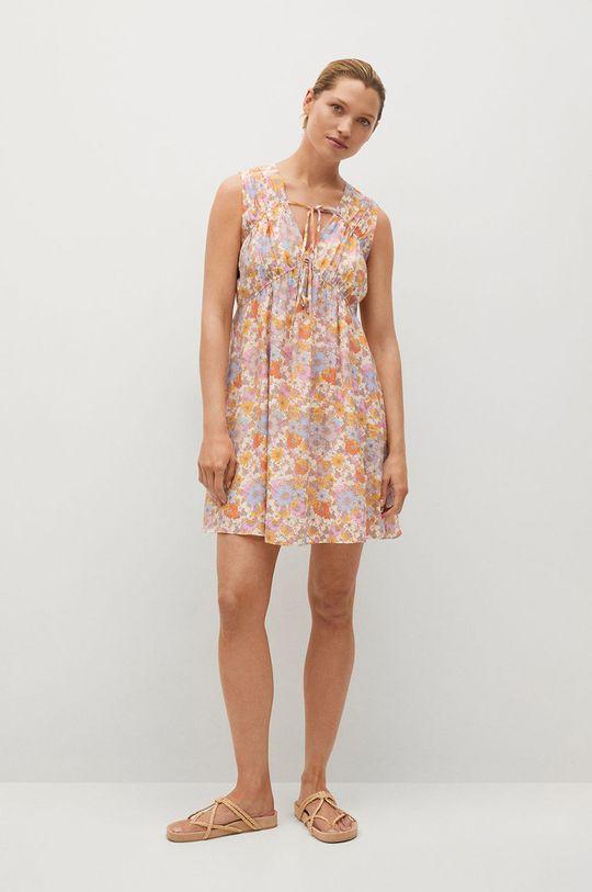 růžová Mango - Šaty MINA Dámský