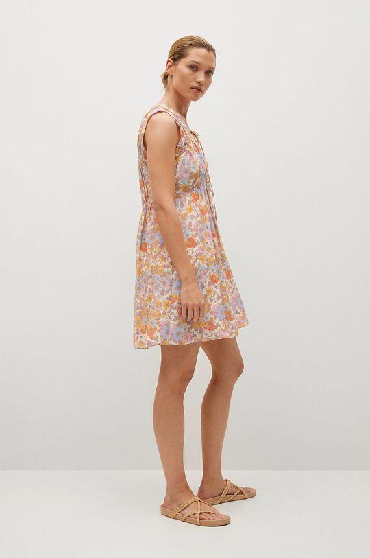 růžová Mango - Šaty MINA