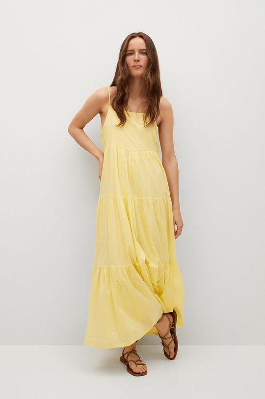 Mango - Sukienka COTTON Damski