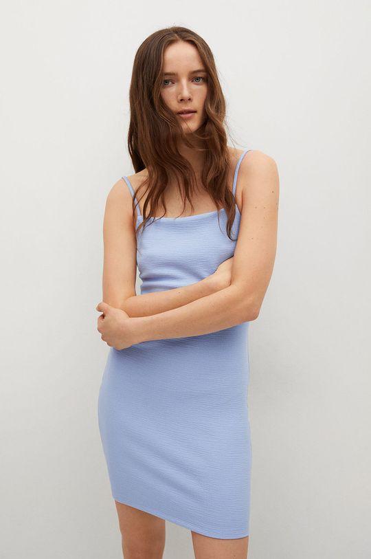 blady niebieski Mango - Sukienka NUVERTU1 Damski