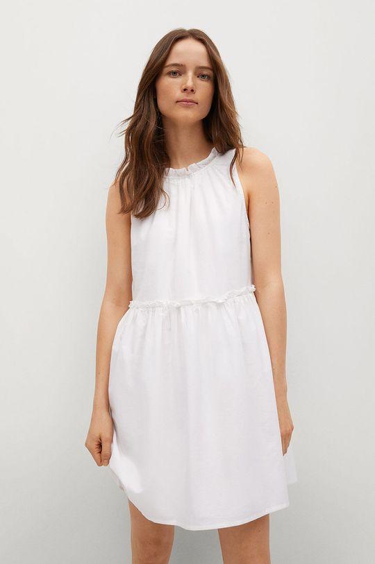 bílá Mango - Šaty MIKONOS Dámský