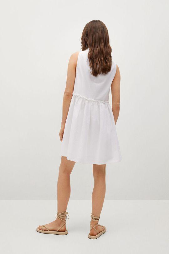 Mango - Šaty MIKONOS  Podšívka: 100% Bavlna Hlavní materiál: 100% Bavlna