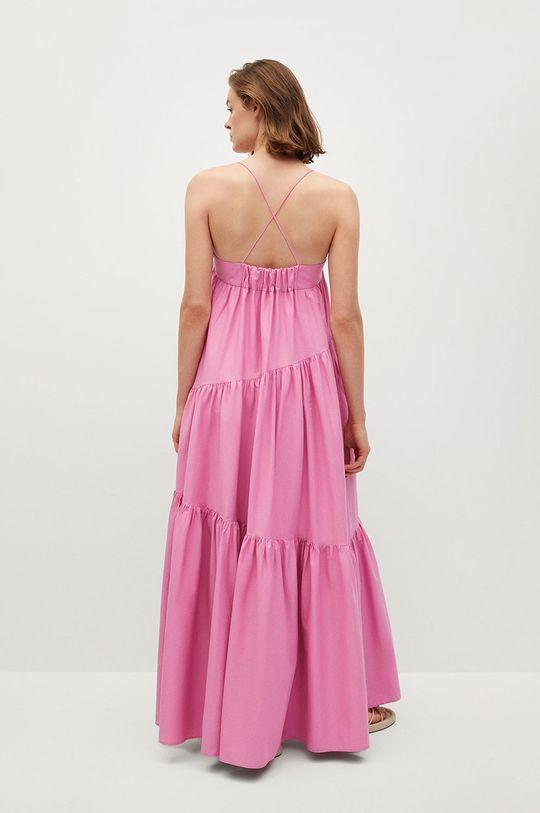 růžová Mango - Šaty PARACHUT