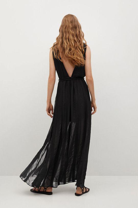 černá Mango - Šaty TROPEA Dámský