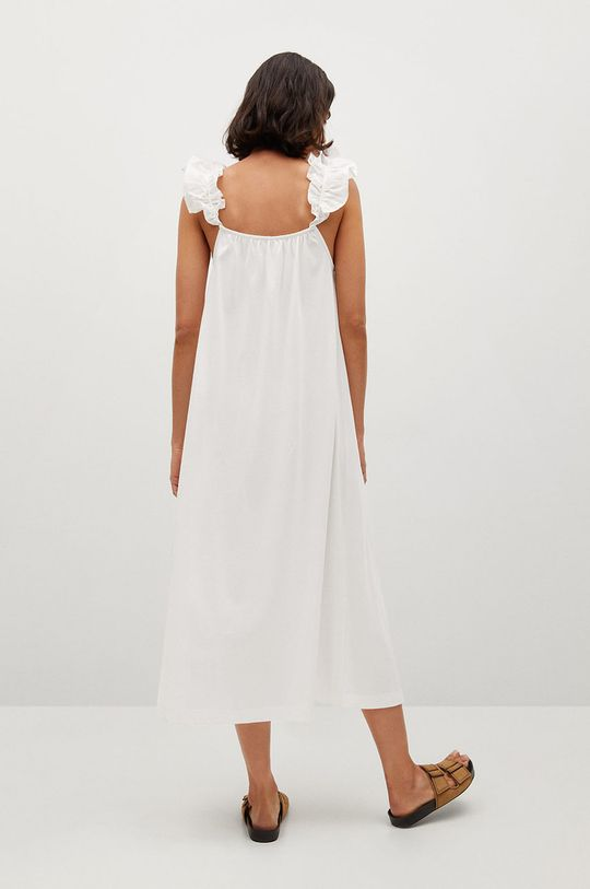 Mango - Bavlnené šaty Margot  100% Bavlna