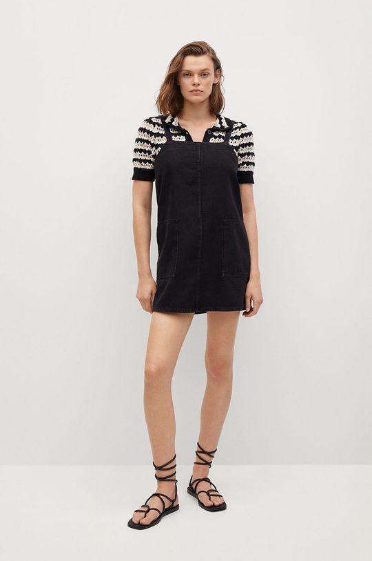 Mango - Sukienka jeansowa Lexia szary