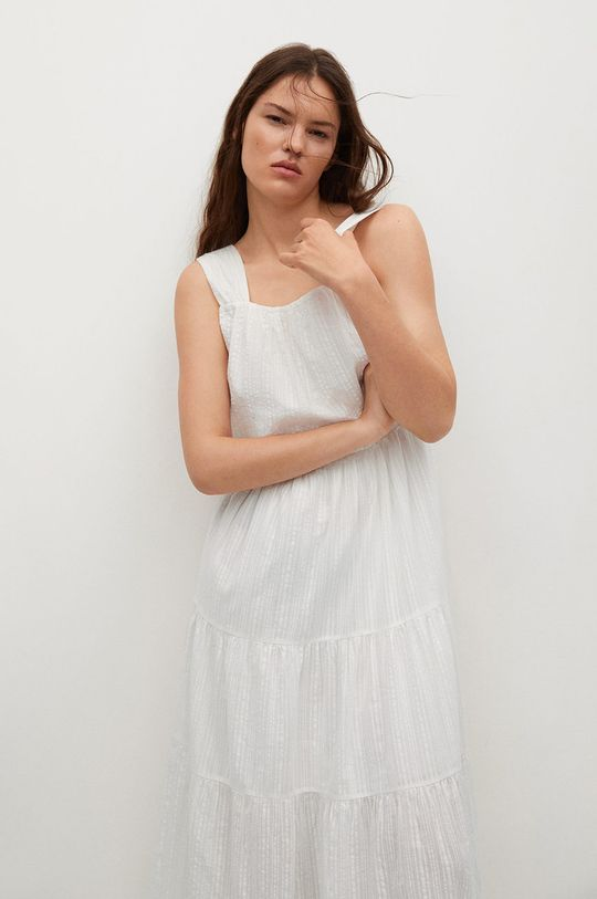 Mango - Bavlněné šaty Coquet  100% Bavlna