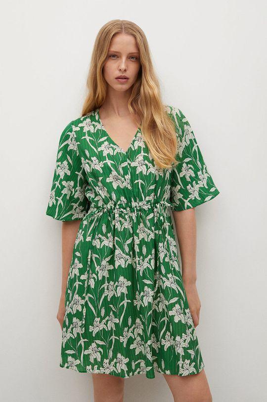 zelená Mango - Šaty Rainbow Dámský