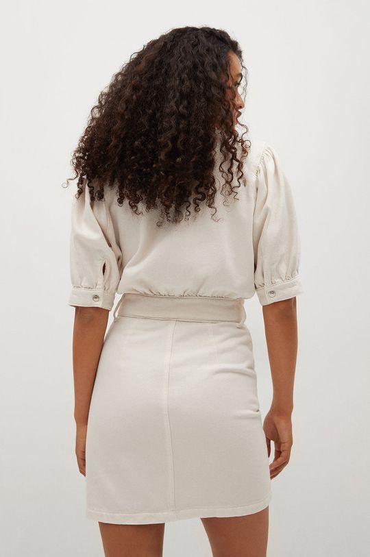 Mango - Sukienka jeansowa LOLITA pszeniczny