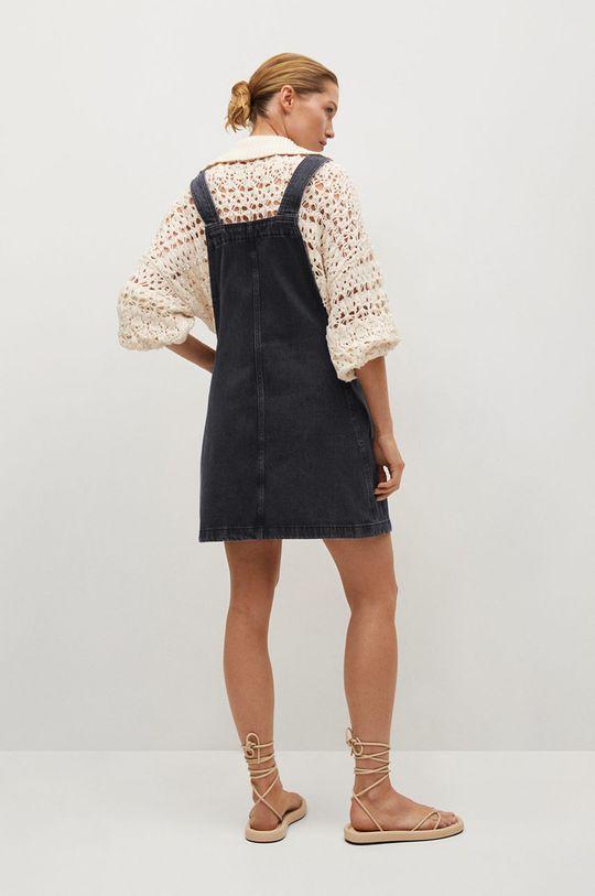 Mango - Sukienka jeansowa India 100 % Bawełna